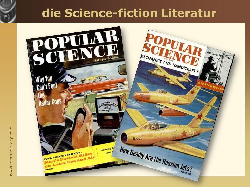 www.themegallery.com die Science-fiction Literatur