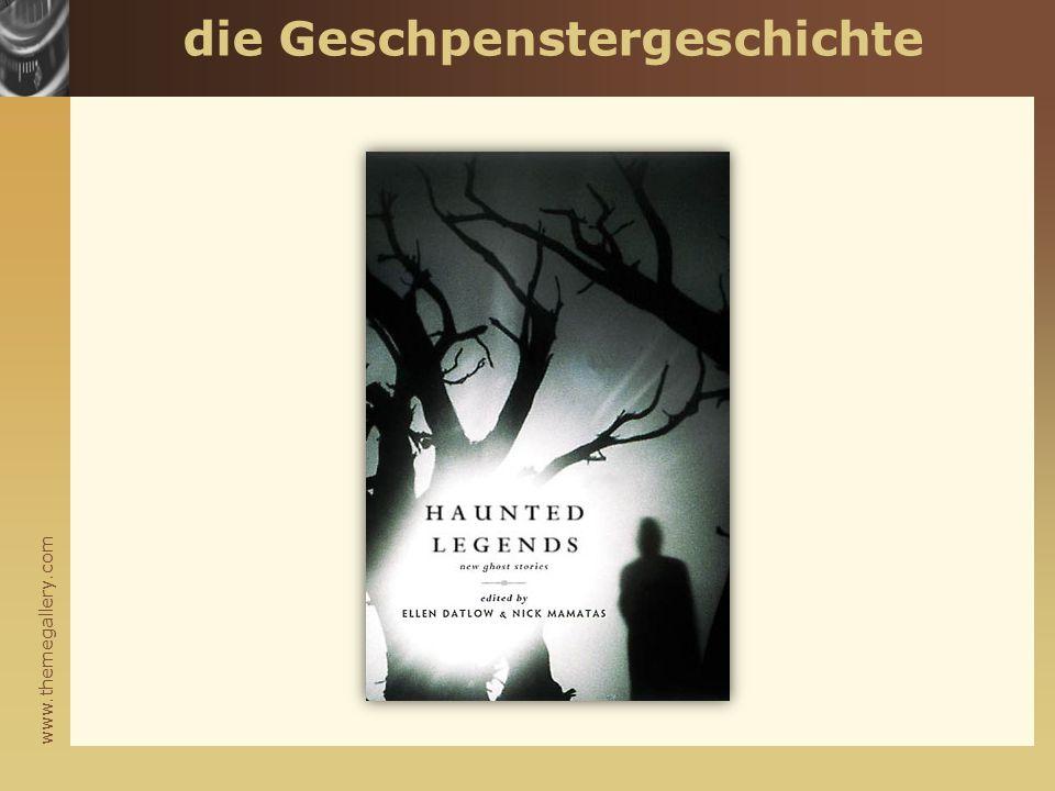 www.themegallery.com die Geschpenstergeschichte