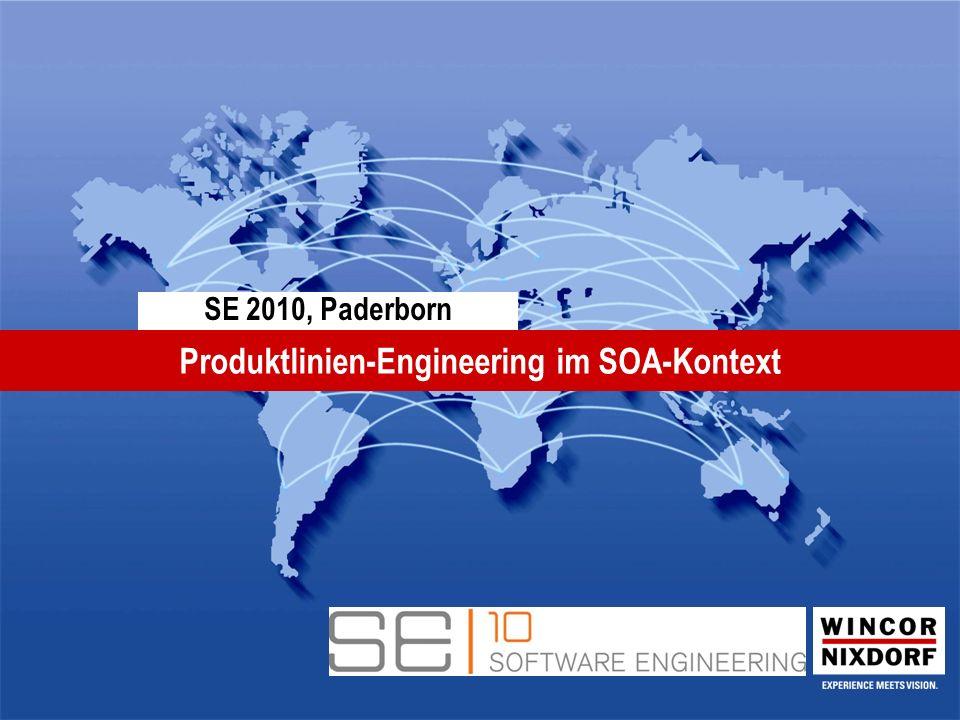 SE 2010, Paderborn Produktlinien-Engineering im SOA-Kontext