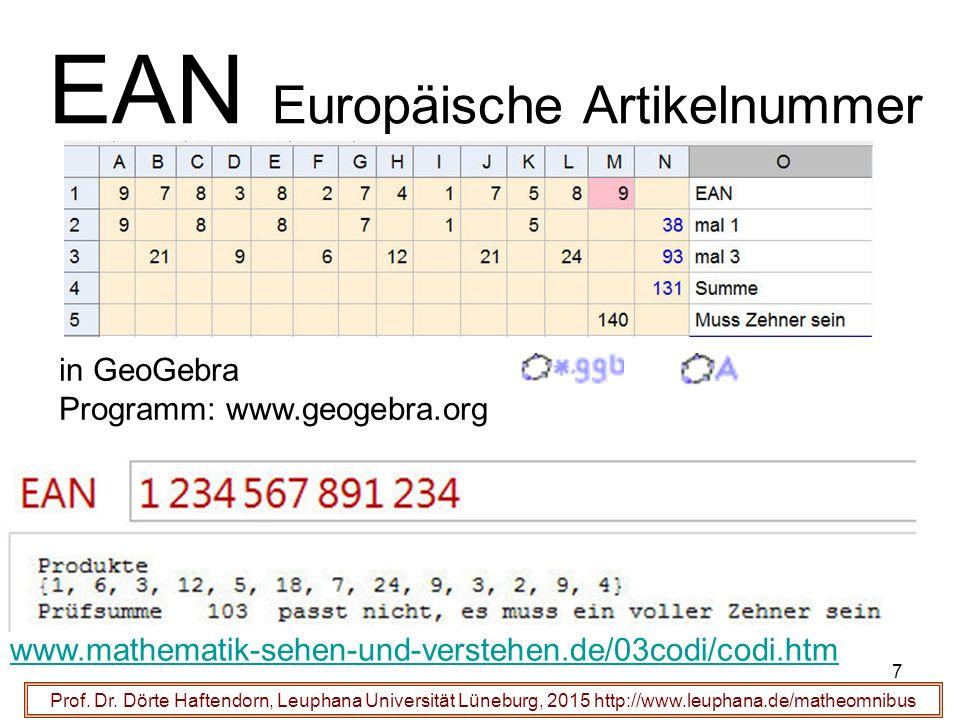 28 Funktioniert der Hamming-Code .Prof. Dr.