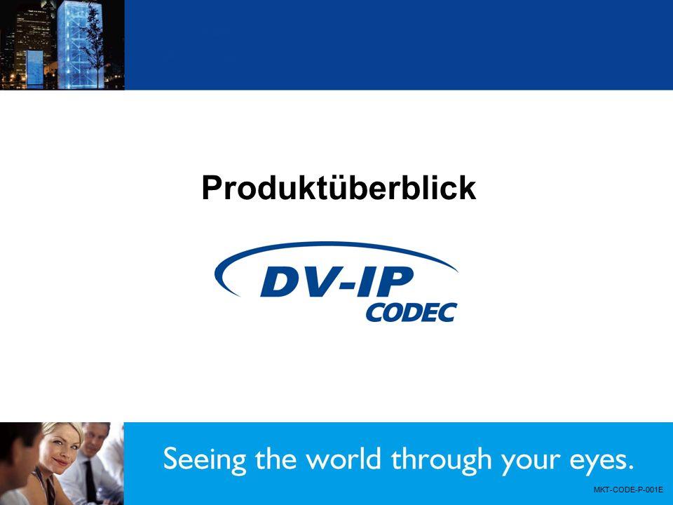 Produktüberblick MKT-CODE-P-001E