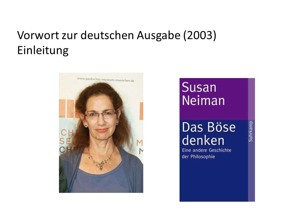 Vorwort zur deutschen Ausgabe (2003) Einleitung