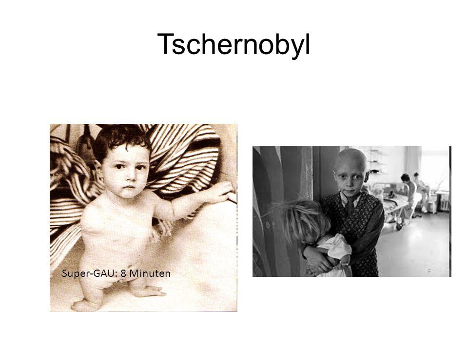 Tschernobyl Super-GAU: 8 Minuten