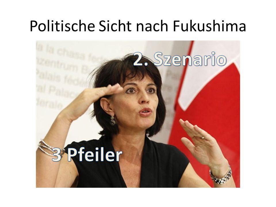 Politische Sicht nach Fukushima
