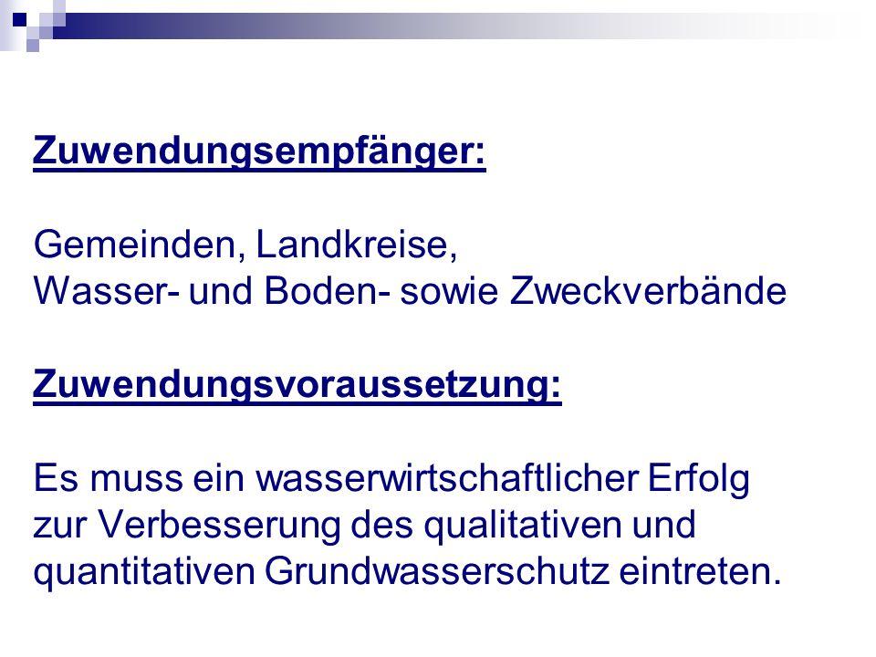 Höhe der Zuwendung: Projektförderung bis zu 15.000,-- € als Festbetragsfinanzierung, darüber hinaus als Anteilfinanzierung Antragsverfahren: siehe Staatsanzeiger Nr.