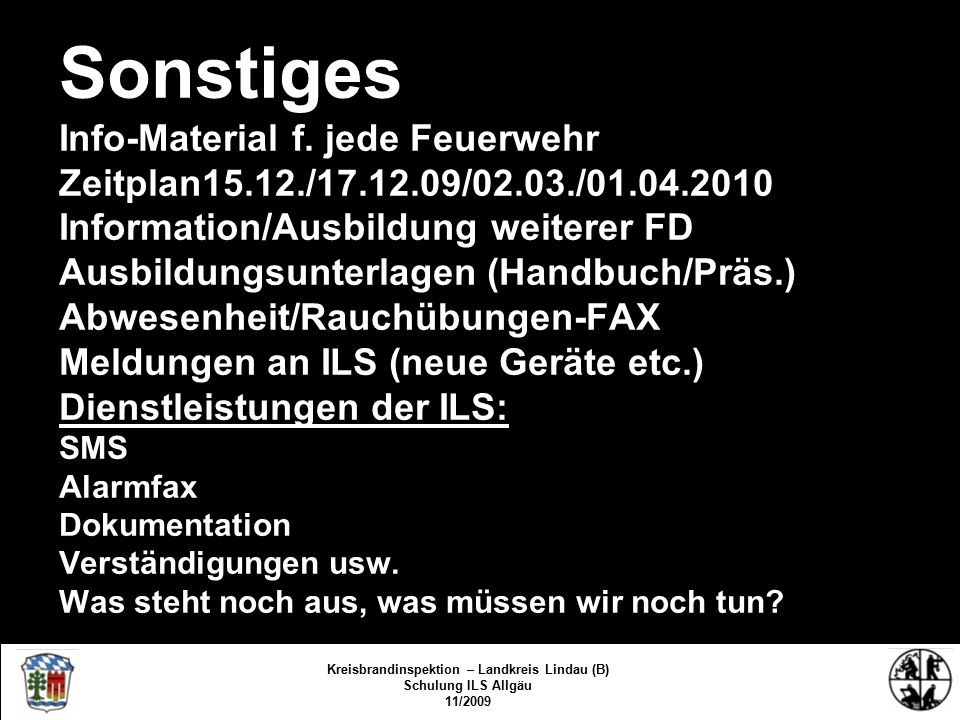 Sonstiges Info-Material f.