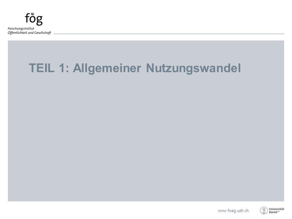 www.foeg.uzh.ch TEIL 1: Allgemeiner Nutzungswandel