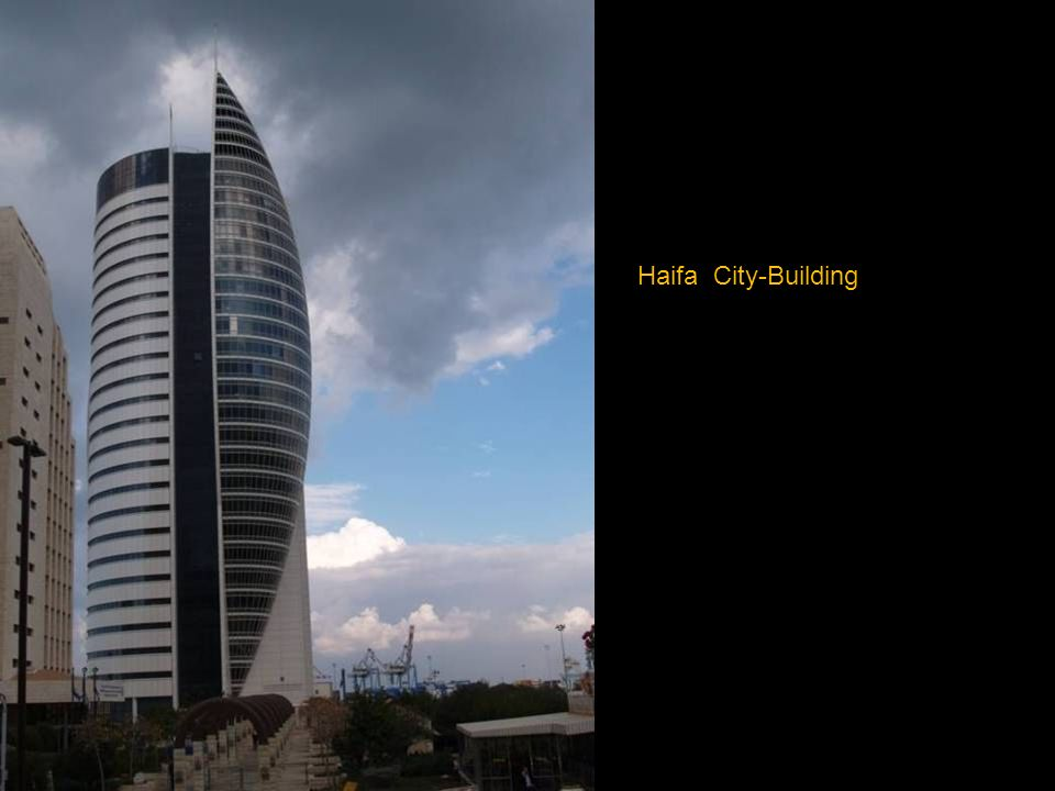 Gewitter über Haifa