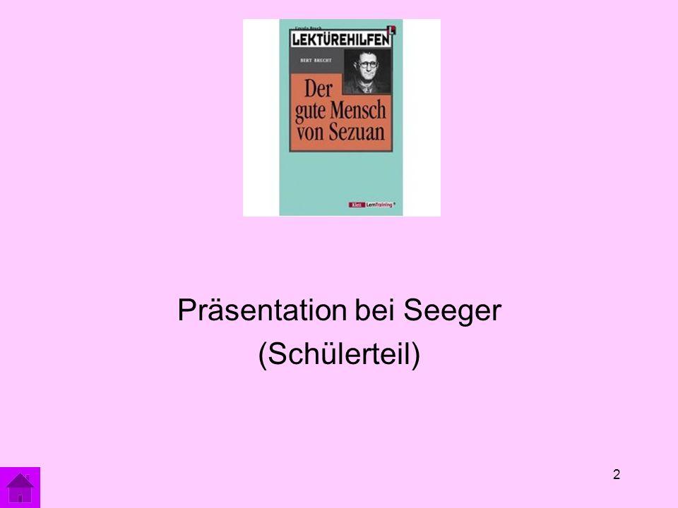 2 Präsentation bei Seeger (Schülerteil)