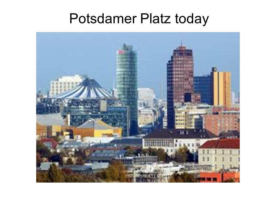 Potsdamer Platz today