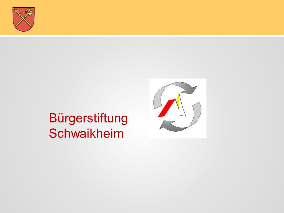 Bürgerstiftung-Schwaikheim Bürgerstiftung Schwaikheim