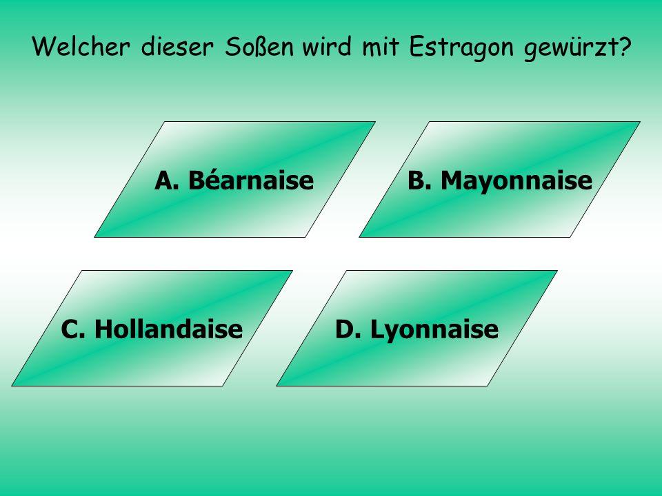 Lösung: B. Irland