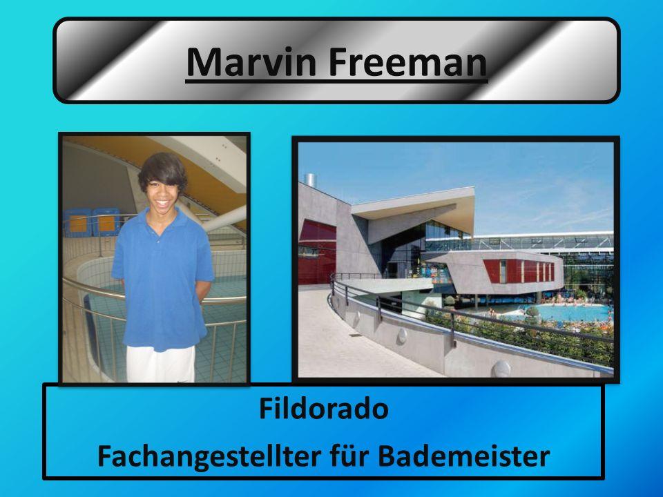 Fildorado Fachangestellter für Bademeister Marvin Freeman