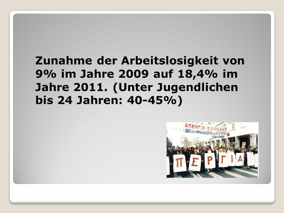 Der Steuer der Arbeitnehmer wird erhöht und der Steuer der Unternehmen wird gesenkt ARBEITGEBERUNTERNEHMEN EINKOMMENST EUER- ERKLÄRUNG STEUER EINKOMMENSTE UER- ERKLÄRUNGSTEUER 200968,23%52,29%14,25%30,79% 201070,18%55,54%13,03%28,67% UNTERSCHIED 1,95%3,25%-1,22%-2,12%