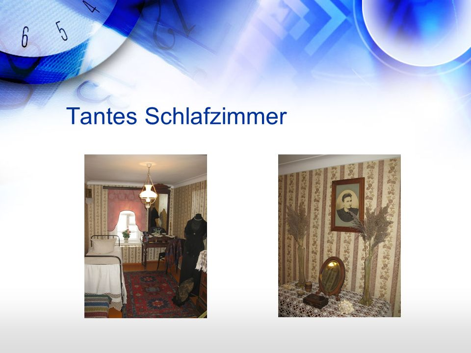 Tantes Schlafzimmer