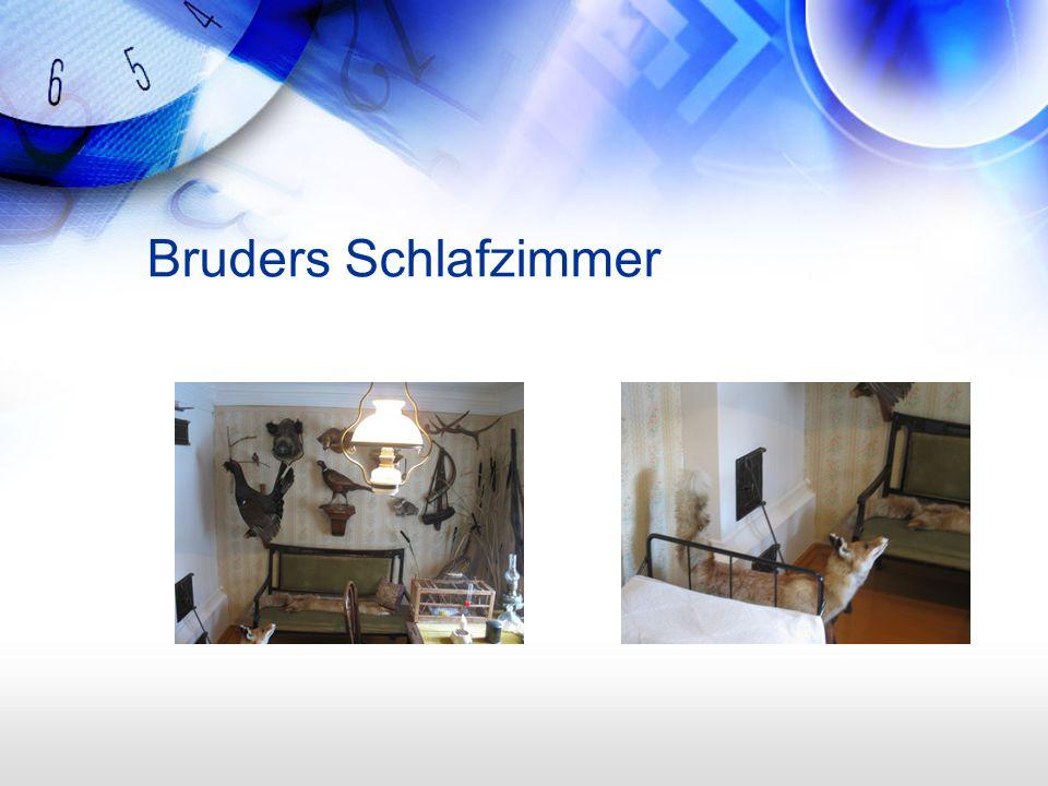 Bruders Schlafzimmer