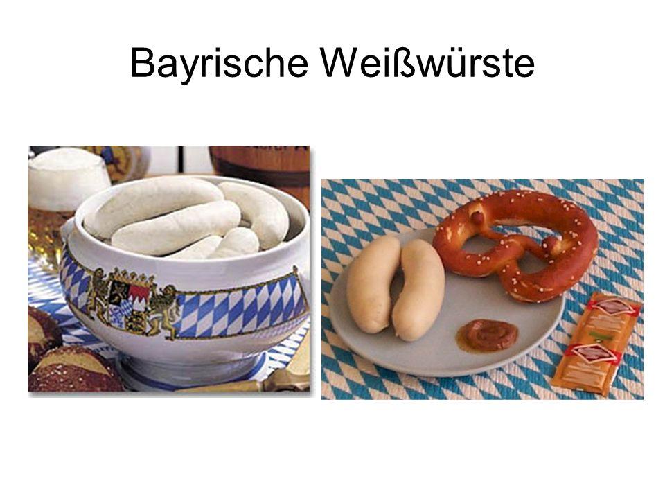 Bayrische Weißwürste