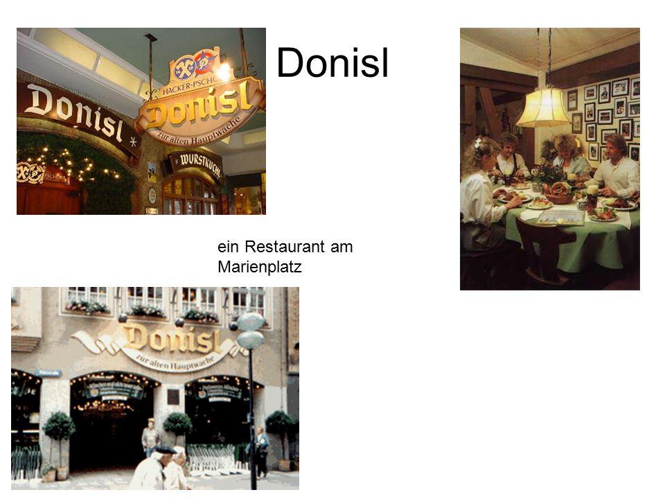 Donisl ein Restaurant am Marienplatz