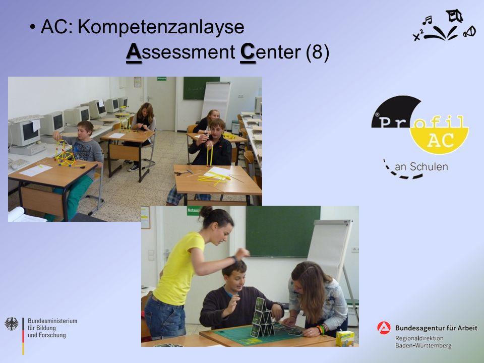 AC AC:Kompetenzanlayse A ssessment C enter (8)
