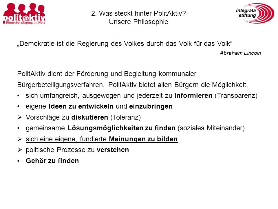 3.Wozu wird PolitAktiv in Blaubeuren eingesetzt.