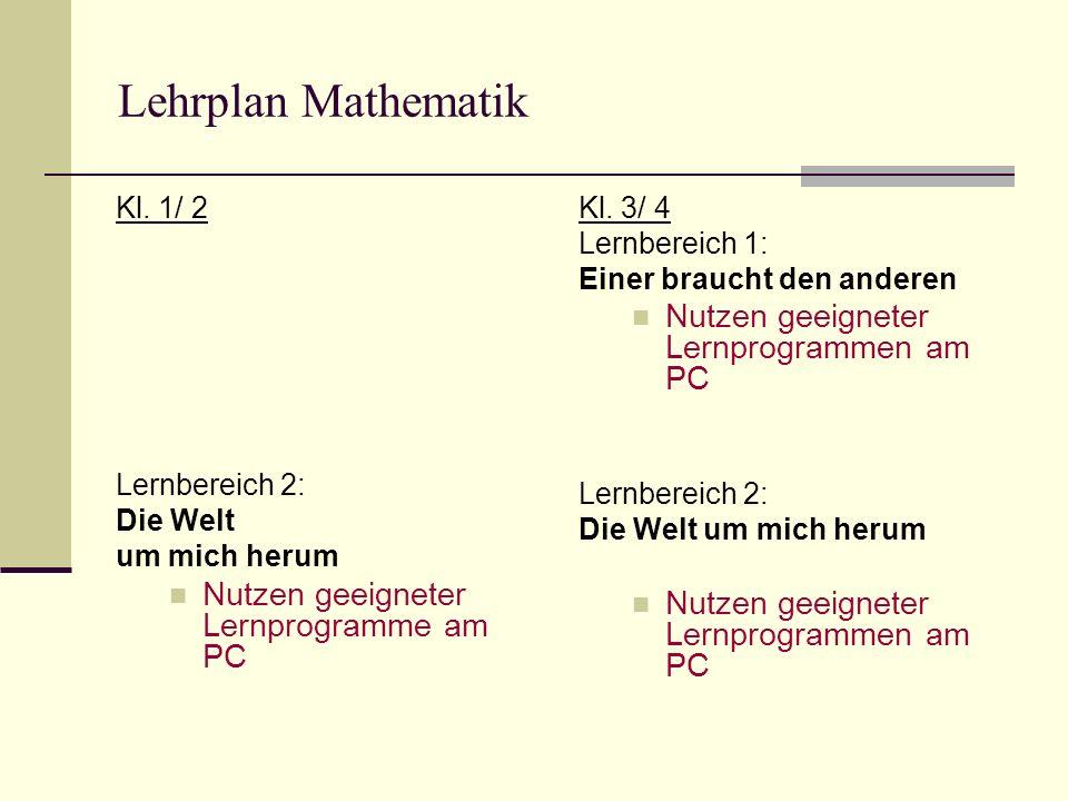 Lehrplan Mathematik Kl.