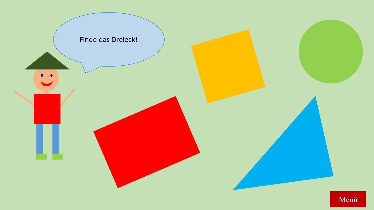 Finde das Dreieck! Menü