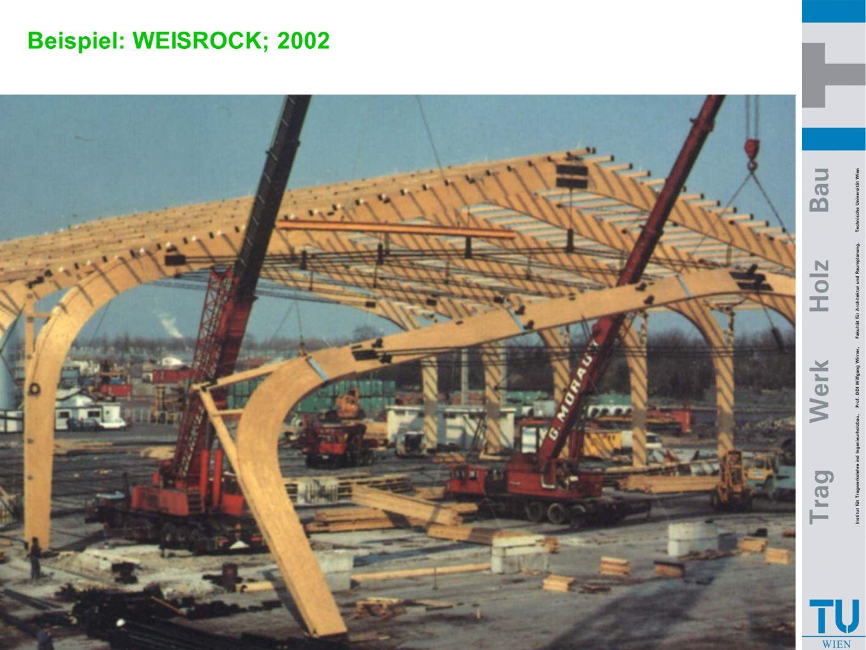 Beispiel: WEISROCK; 2002