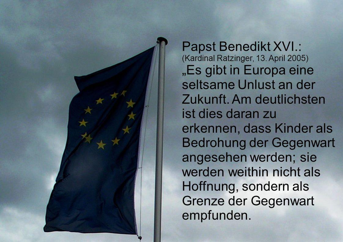 Papst Benedikt XVI.: (Kardinal Ratzinger, 13.