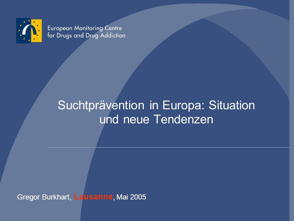 Gregor Burkhart - 32 Indicated prevention Frühinterventionen, z.B.