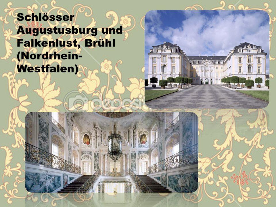 Schlösser Augustusburg und Falkenlust, Brühl (Nordrhein- Westfalen)