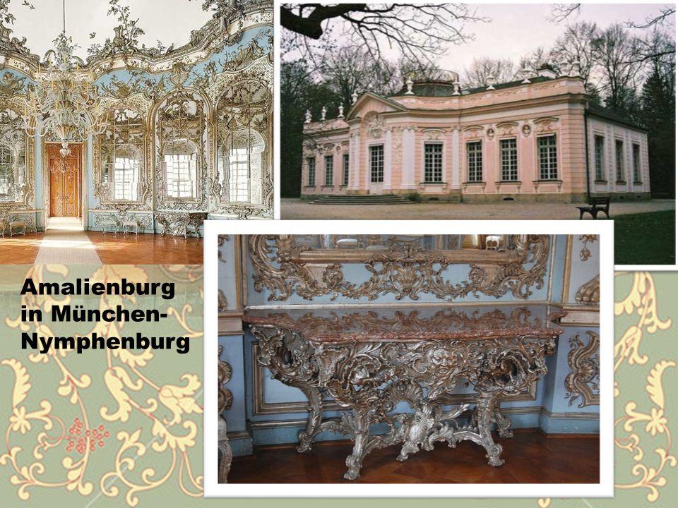 Amalienburg in München- Nymphenburg