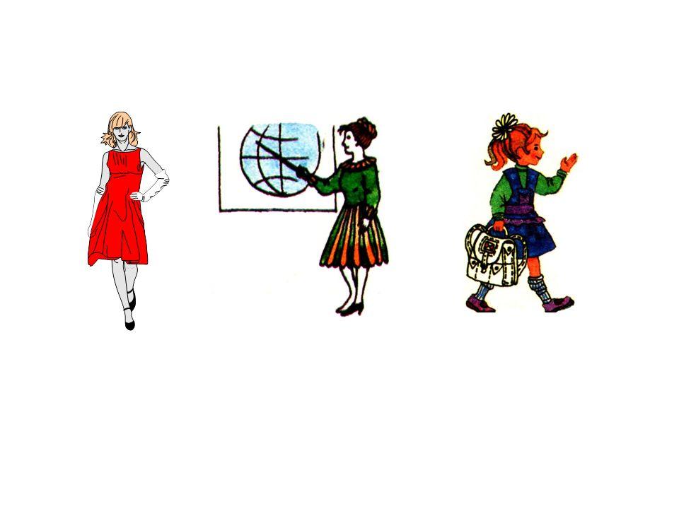 die Frau die Lehrerin die Schülerin