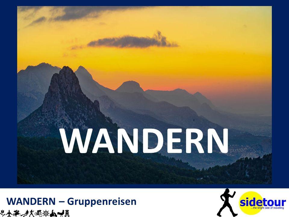 WANDERN – Gruppenreisen WANDERN
