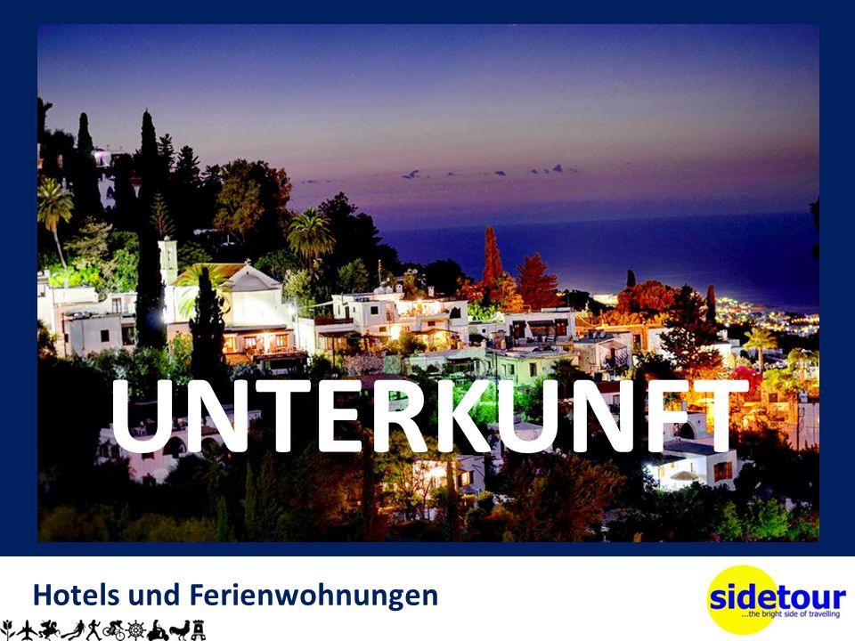 Hotels und Ferienwohnungen UNTERKUNFT