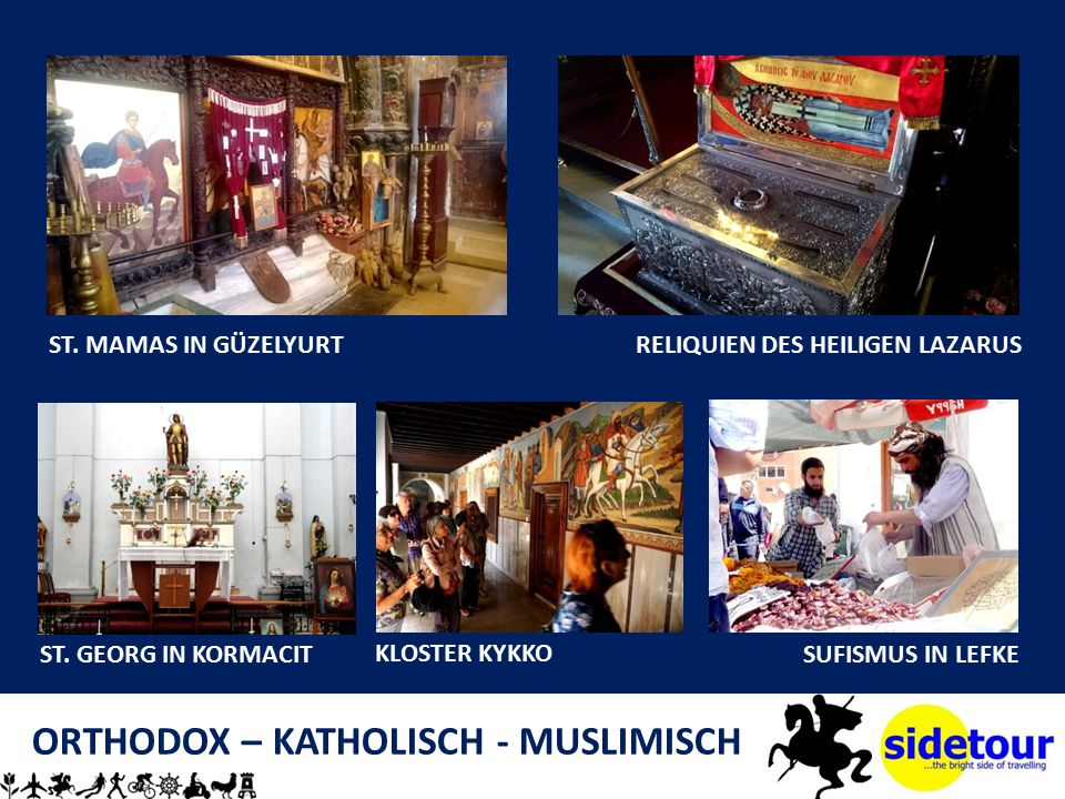 ORTHODOX – KATHOLISCH - MUSLIMISCH ST. MAMAS IN GÜZELYURTRELIQUIEN DES HEILIGEN LAZARUS ST.