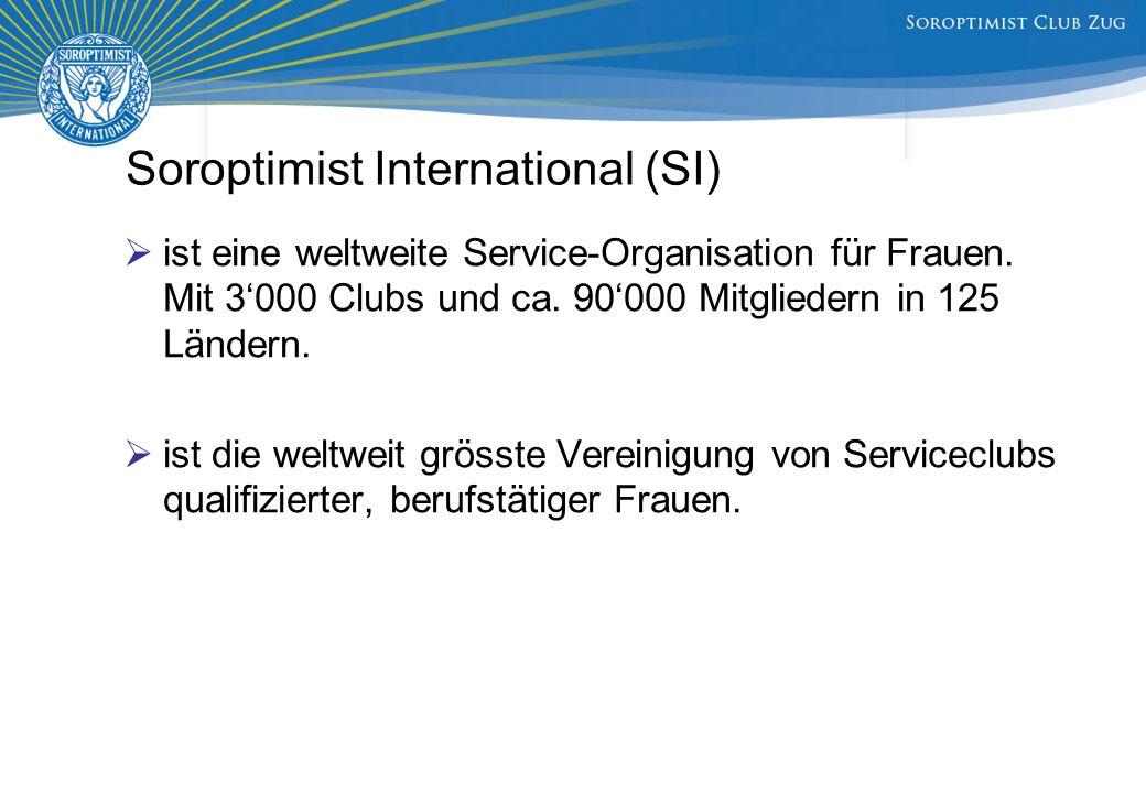 Soroptimist International (SI)  ist eine weltweite Service-Organisation für Frauen.