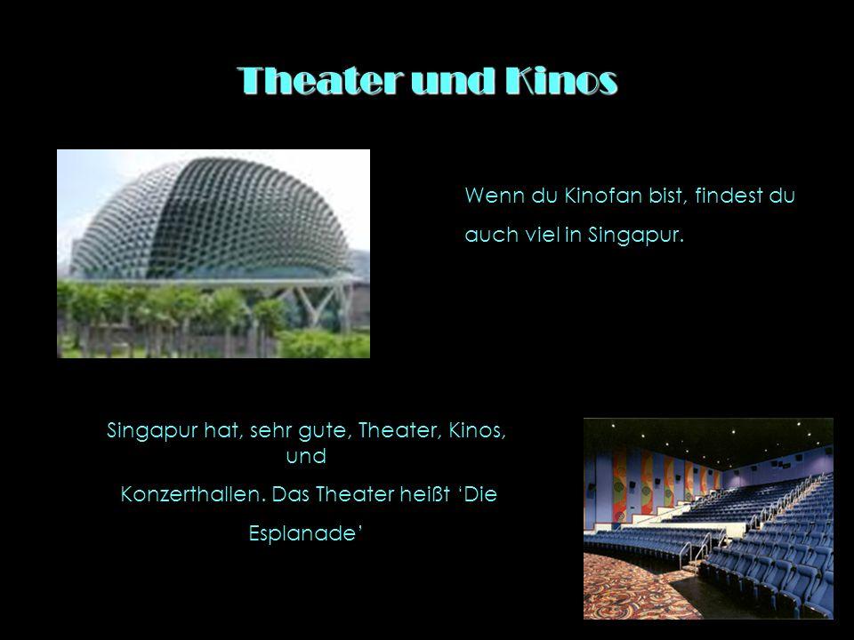 Singapur schläft nicht ein!. In Singapur gibt es viele Kneipen und Discos.
