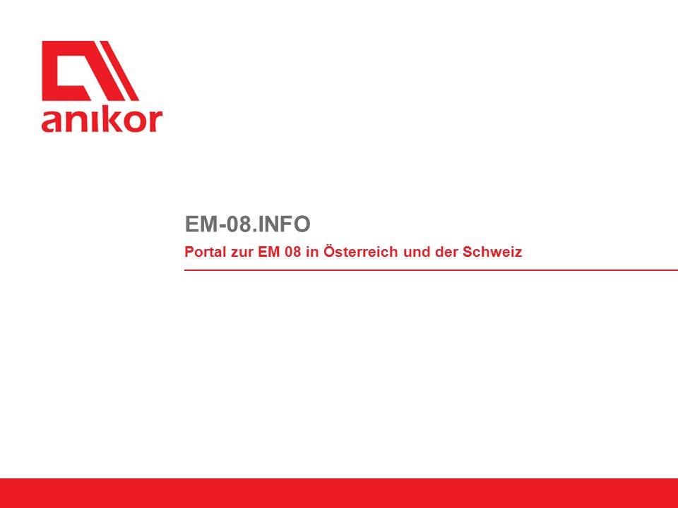 EM-08.INFO Portal zur EM 08 in Österreich und der Schweiz