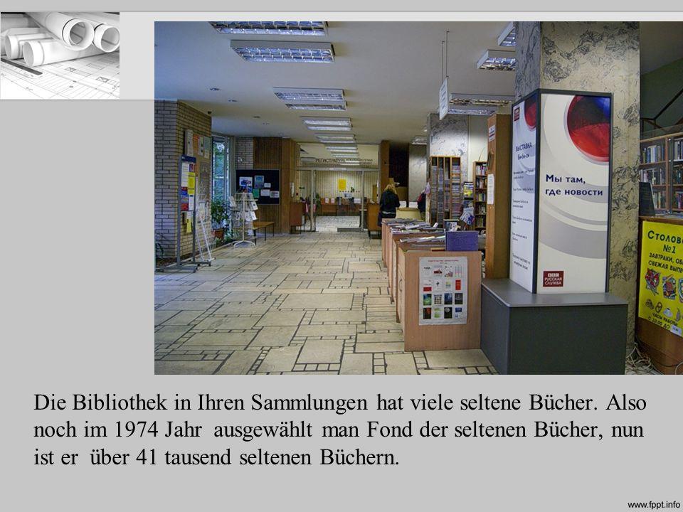 In der Bibliothek befindet sich ein paar kulturelle Zentren: Französische und Aserbaidschanische Kulturzentrum, Amerikanische Zentrum, Bulgarische kulturelle Institut, Niederländische Bildungszentrum und Japanische Kulturzentrum.