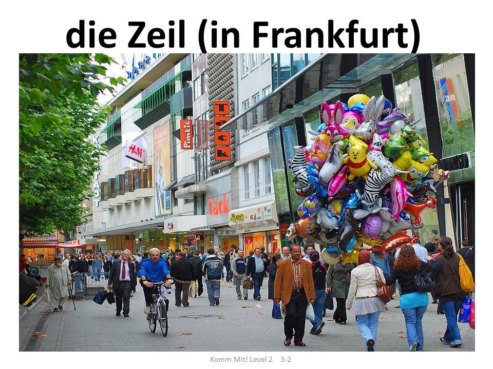 die Zeil (in Frankfurt)
