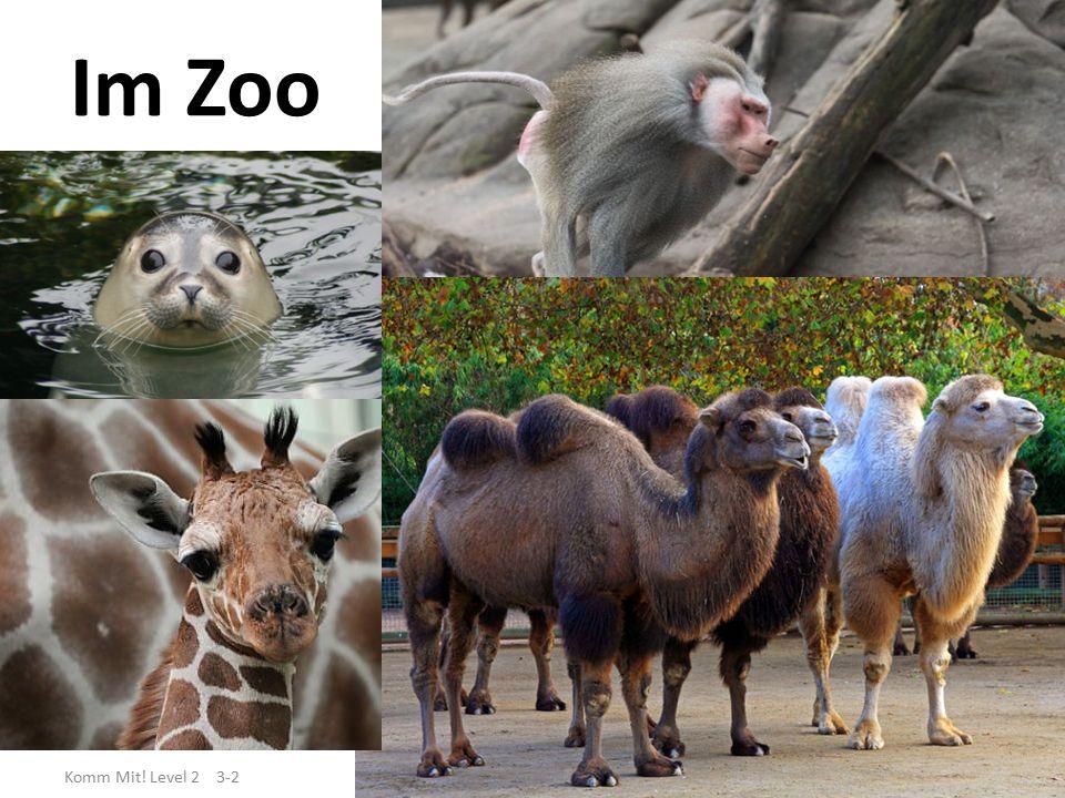 Im Zoo Komm Mit! Level 2 3-2
