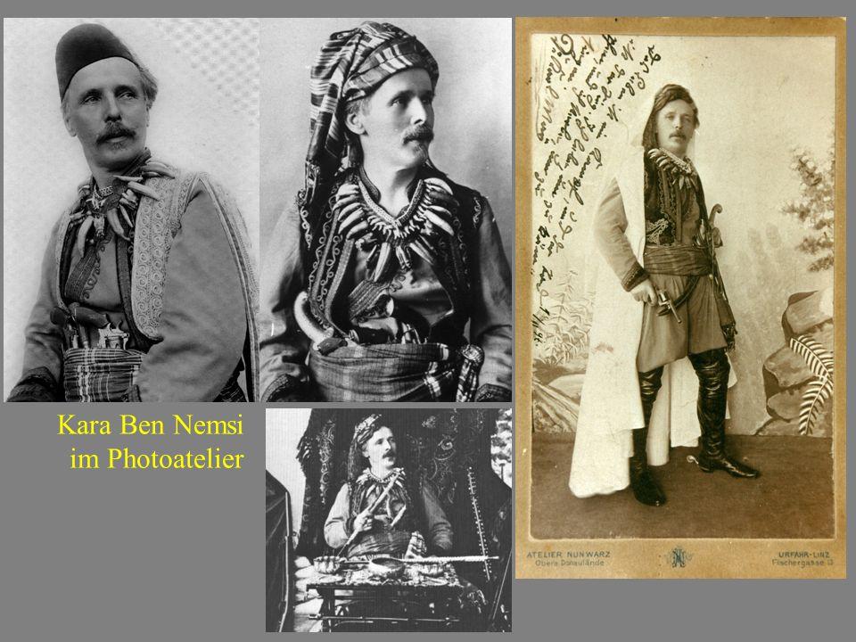 Kara Ben Nemsi im Photoatelier