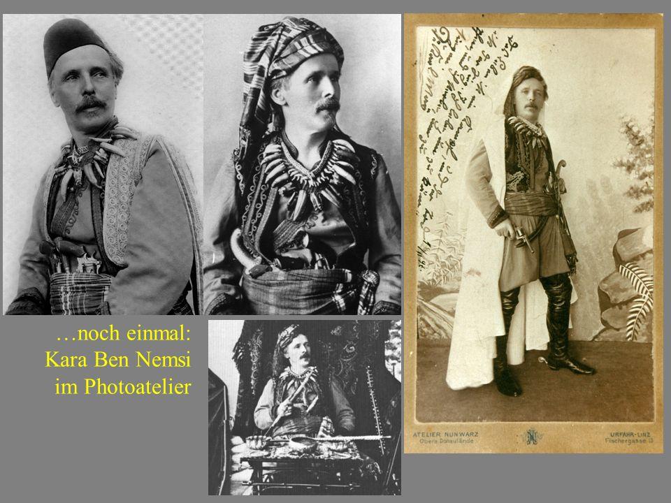 …noch einmal: Kara Ben Nemsi im Photoatelier