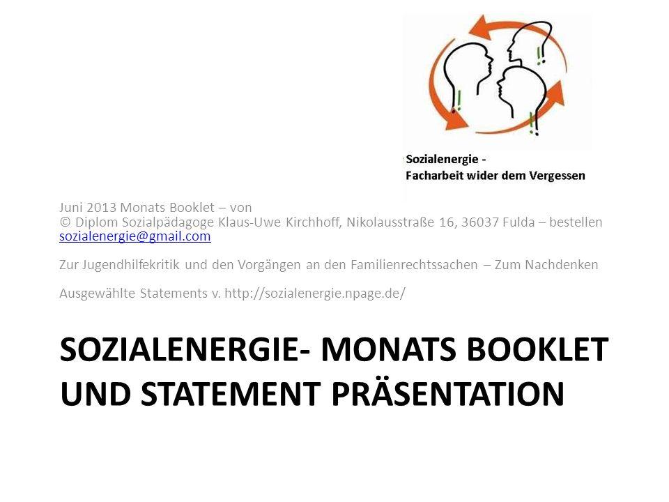 http://sozialenergie.npage.de/ Statement v.