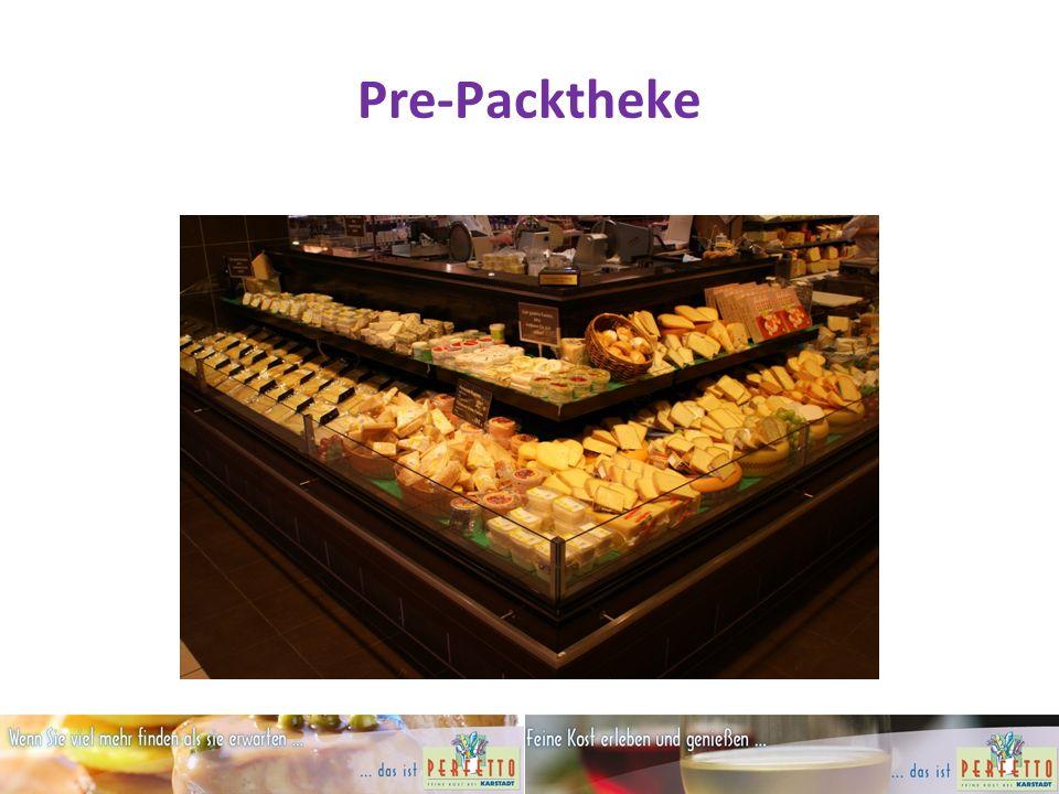 Pre-Packtheke