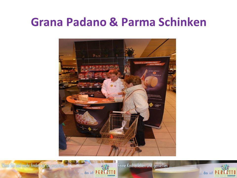 Grana Padano & Parma Schinken