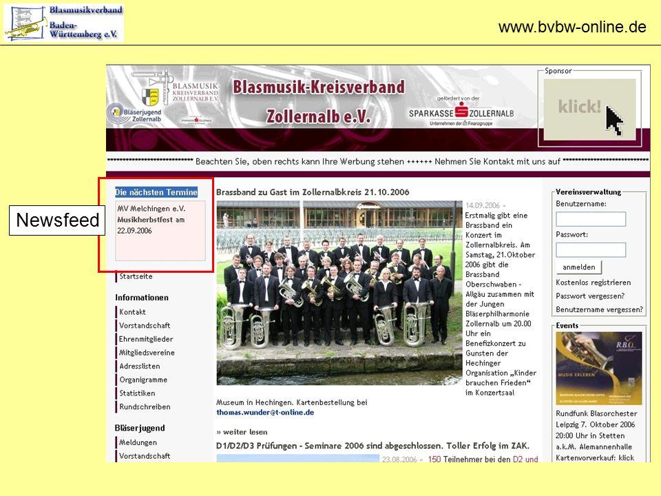 www.bvbw-online.de Newsfeed