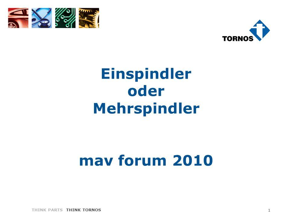 THINK PARTS THINK TORNOS 1 Einspindler oder Mehrspindler mav forum 2010