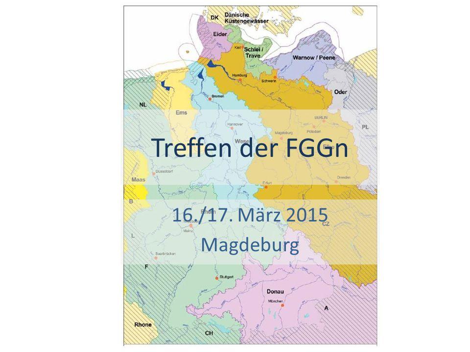 Treffen der FGGn 16./17. März 2015 Magdeburg