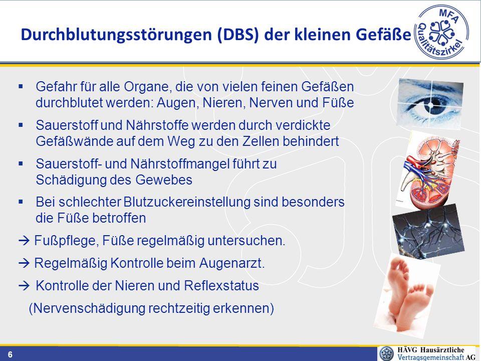 17 Klassifikation nach Wagner-Armstrong www.diatetes-versorgungsleitlinien.de